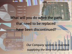 Read more about the article What will you do when the parts that need to be replaced have been discontinued?